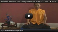 Meditation Instruction