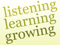 Listening, Learning, Growing