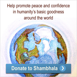 Donating to Shambhala