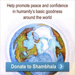Donating to Shambhala